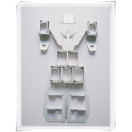 Cadre robot Humanoïde - Argent