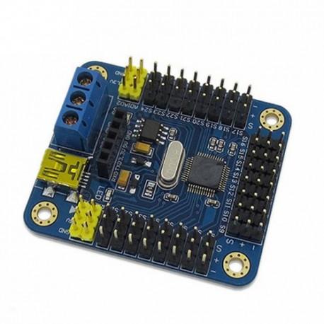 Contrôleur 16 servos - UART Arduino