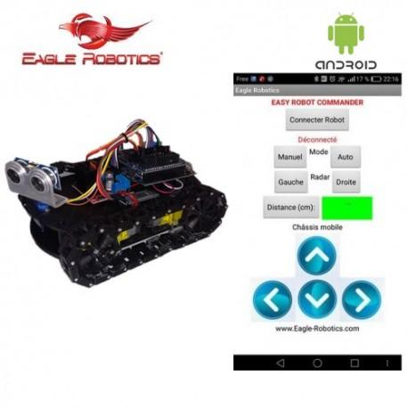 Mini char Arduino éviteur d'obstacles - Open-Source