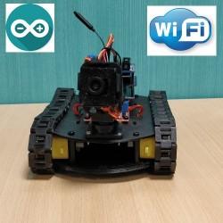 Mini véhicule robot Arduino avec caméra Wifi
