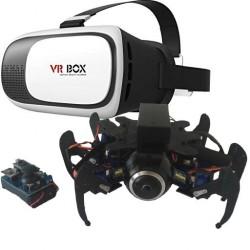 Robot Hexapode caméra VR