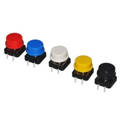 Bouton poussoir - Lot de 5