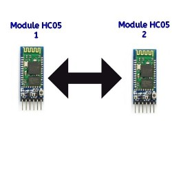 Modules Bluetooth HC-05 Appairés