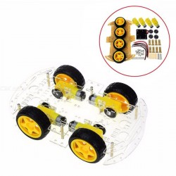 Kit Chassis 4WD Arduino