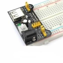 Alimentation Breadboard Arduino MB102