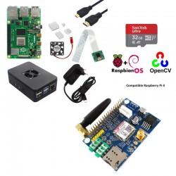 Kit Raspberry Pi - SIM800 SMS/MMS