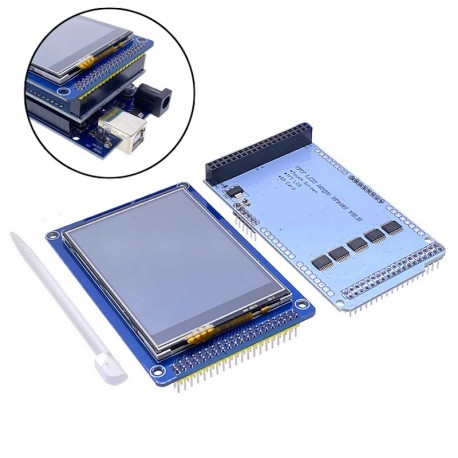 "Shield Ecran tactileTFT 3.5"" Arduino Mega"