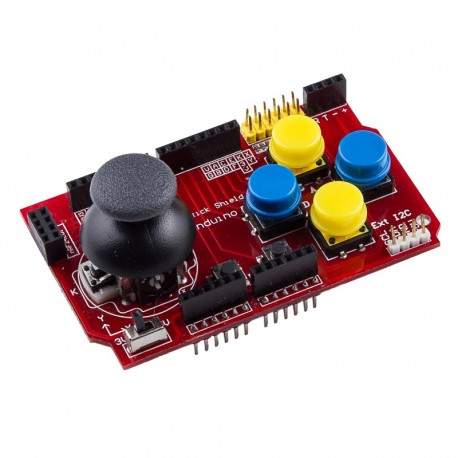 Shield Joystick Arduino NRF24L01