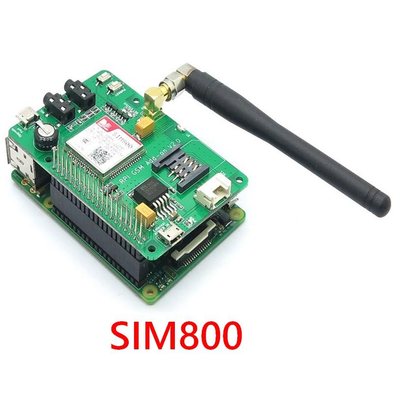 SIM800 V2.3 HAT pour Raspberry Pi 4 et 3