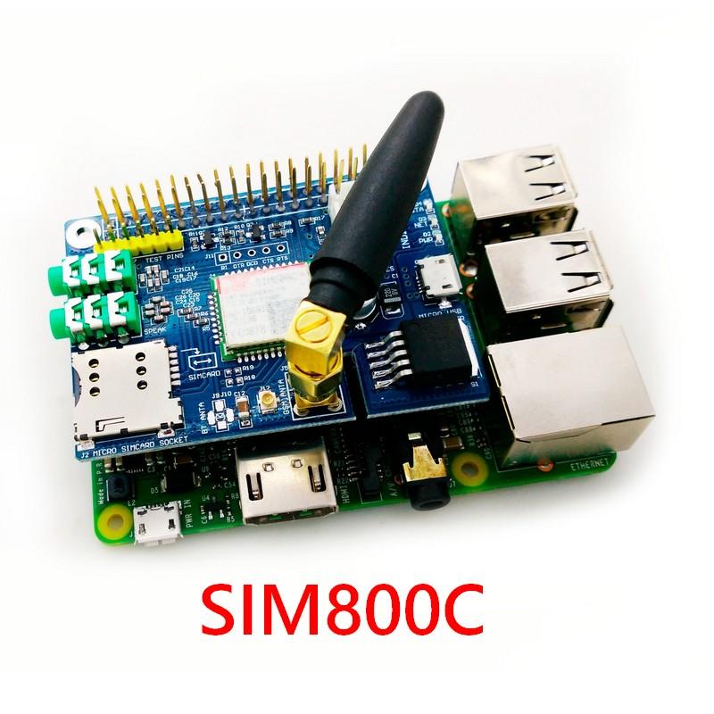 Module SIM800C pour le Raspberry Pi 4
