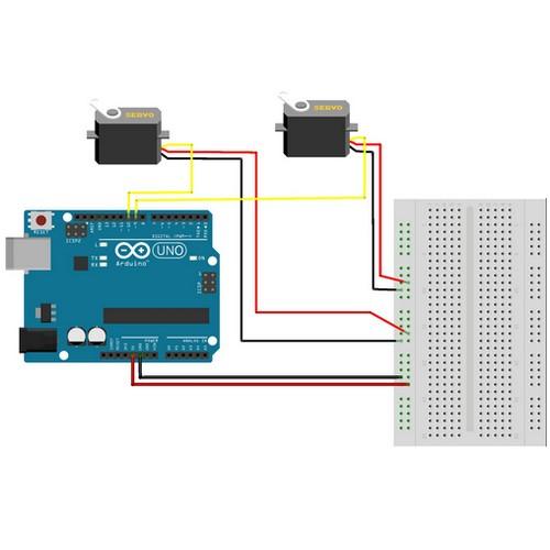 Multimove : L'art de faire bouger plusieurs servomoteurs en même temps avec Arduino