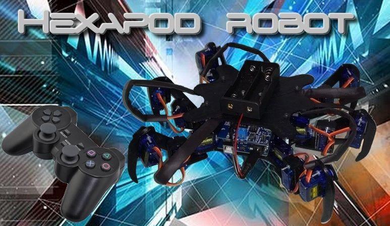 Robot Hexapode R18
