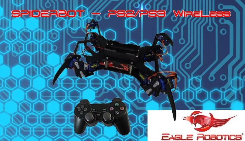 SpiderBot-PS2/PS3